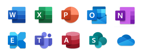 Office 365 Product Icons